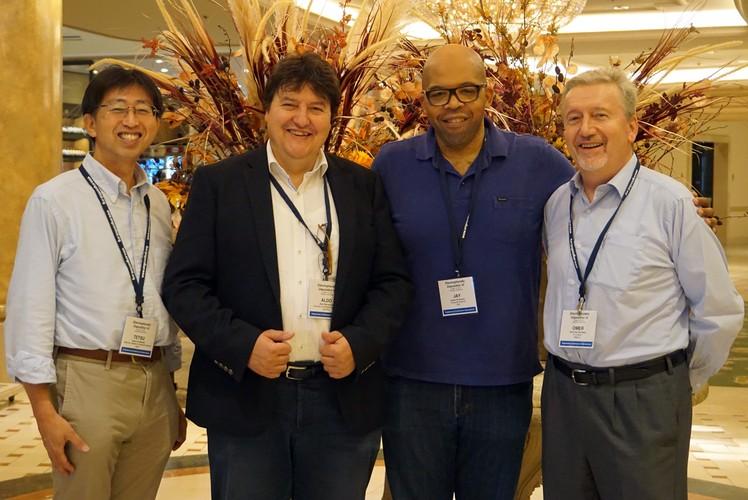 Dr. Uchikoshi, Prof. Boccaccini, Prof. Dickerson, Prof. van der Biest
